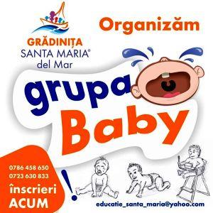 click aici pentru detalii despre inscrieri Grupa Baby la Gradinita Santa Maria del Mar